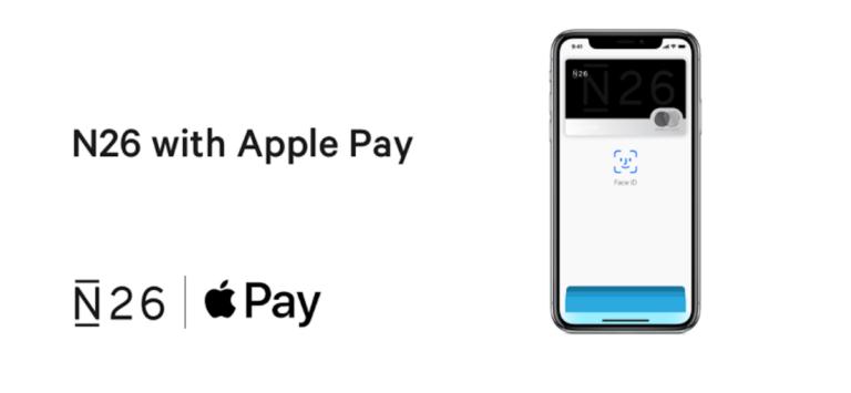 N26 Apple pay