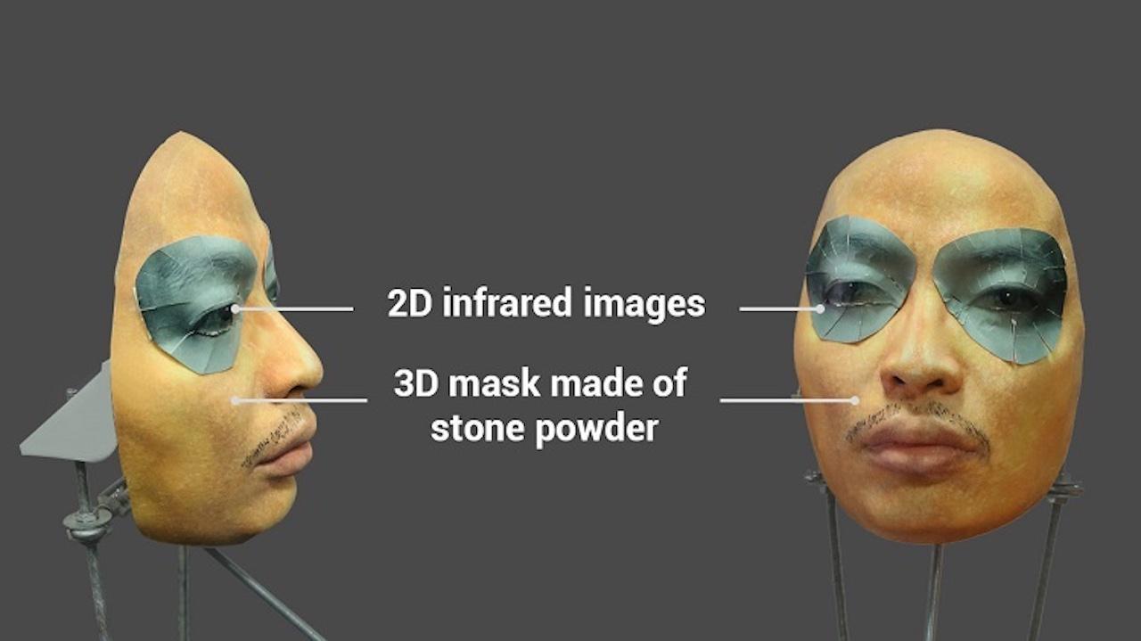 máscara Face ID engaño