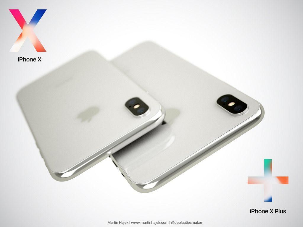 iPhone X Plus concepto