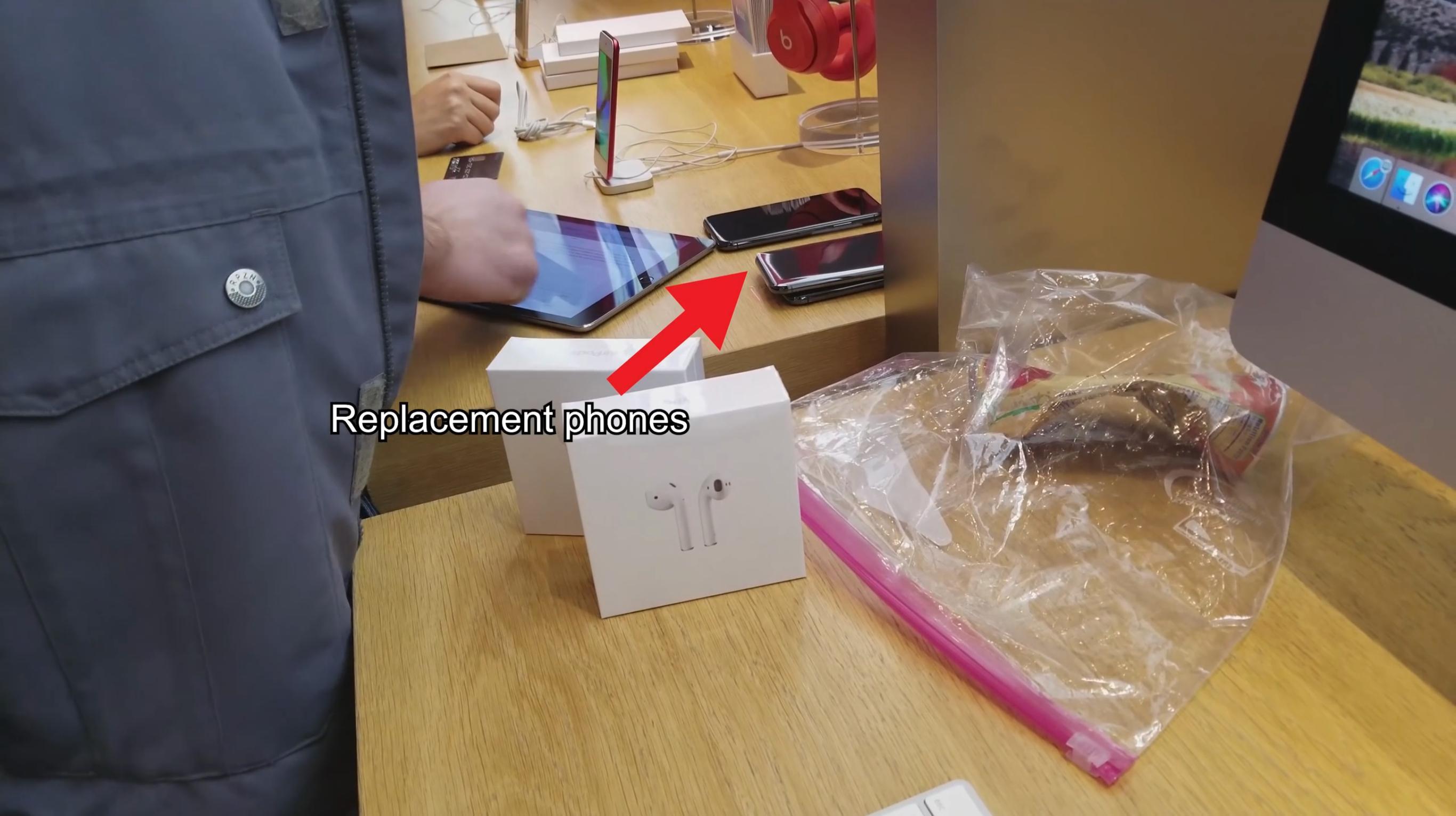 IPhone X reemplazo