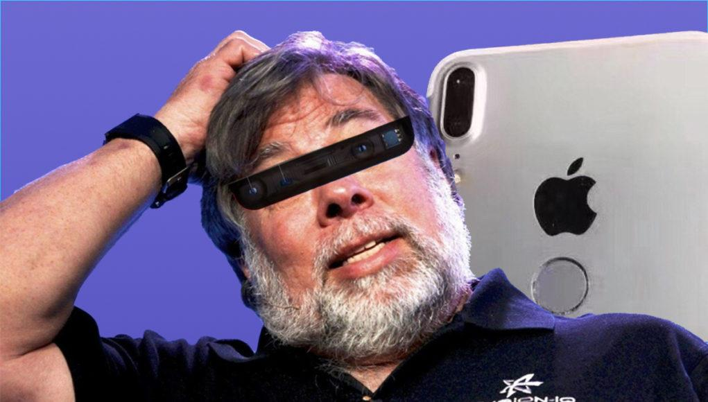 Confundador Apple Wozniak Face ID Touch ID