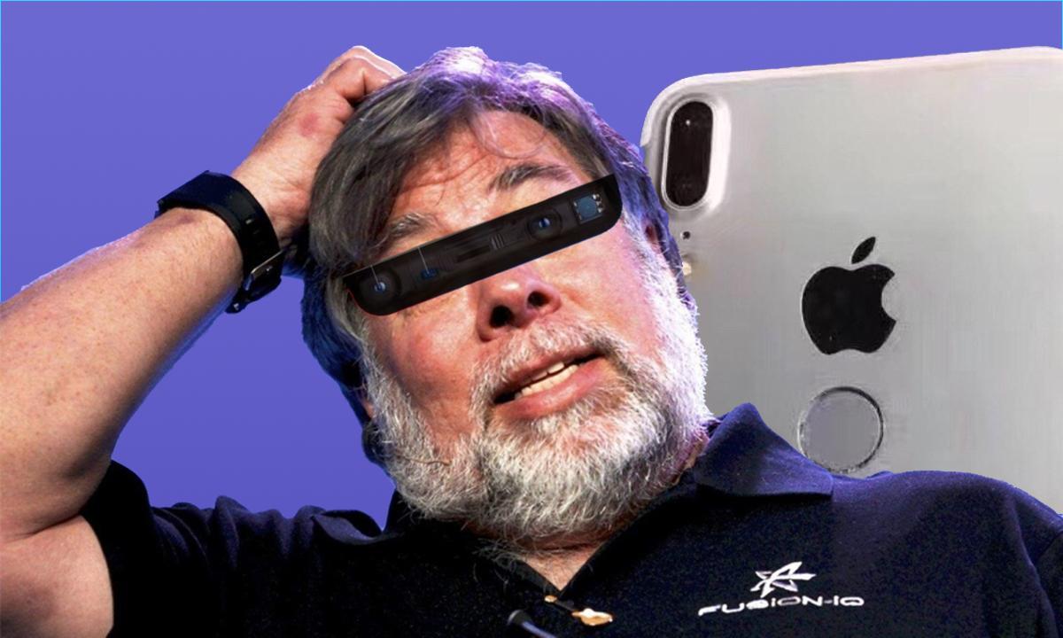 Confundador Apple Wozniak Face ID Touch ID