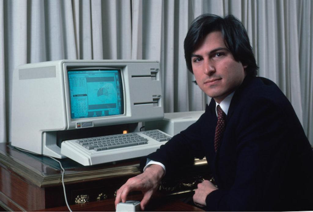 Apple Lisa Steve Jobs