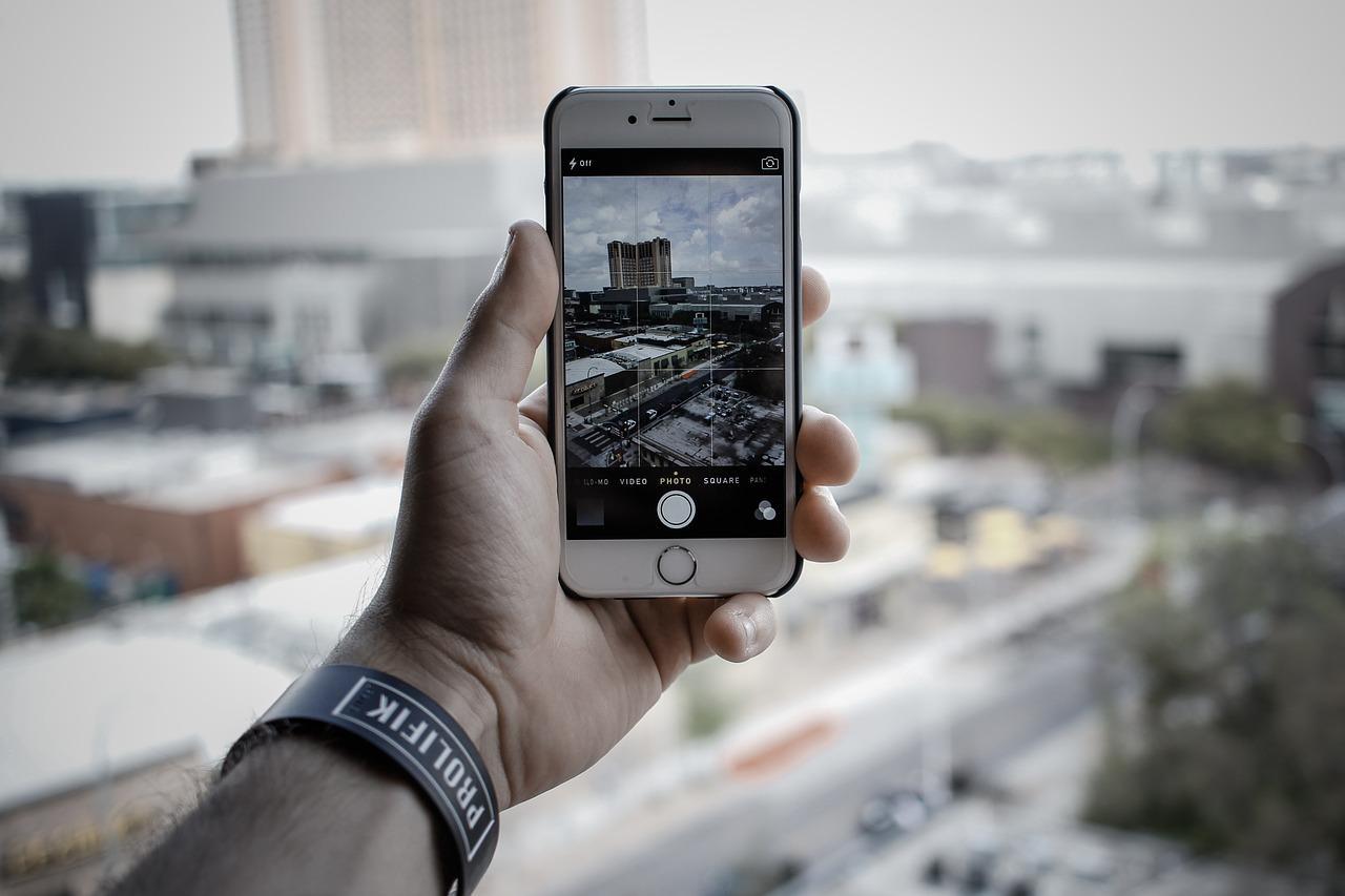 iPhone Foto Blanco