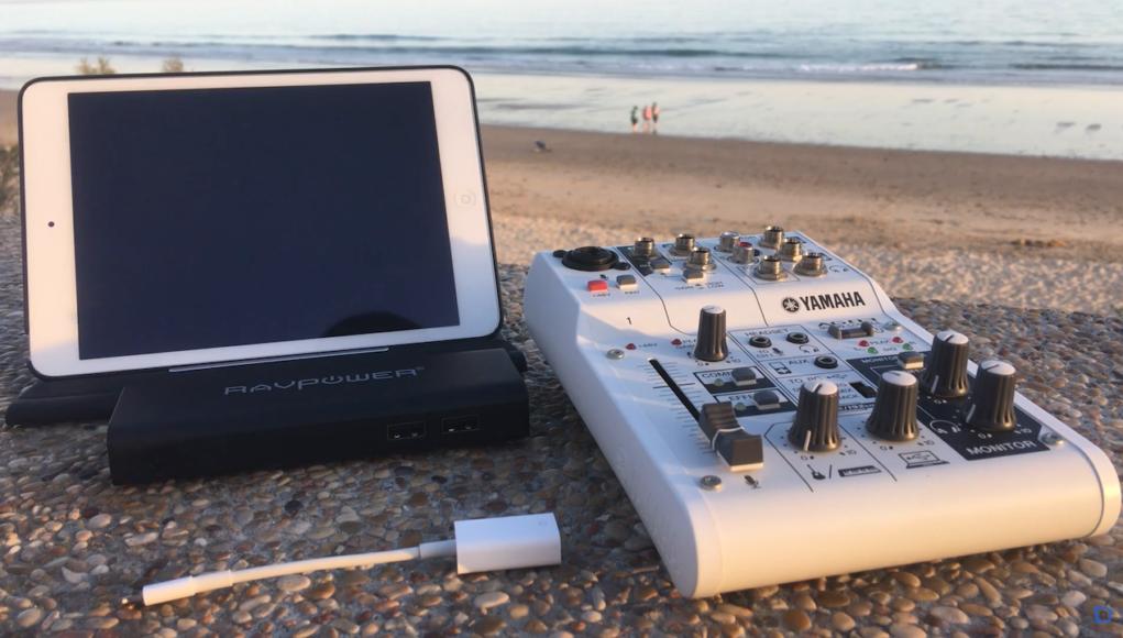 Interfaz-Audio-iPad