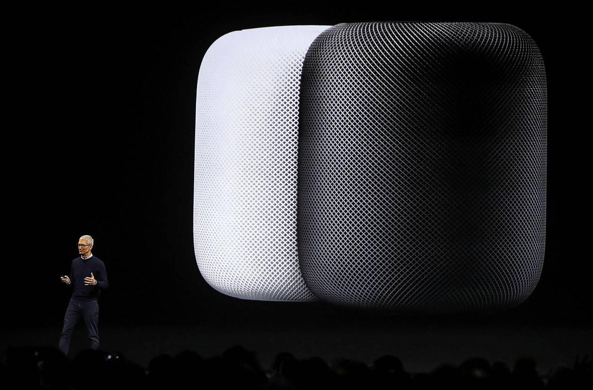 HomePod Tim Cook
