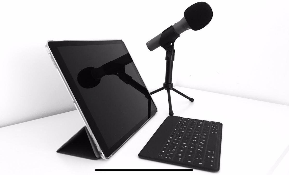 iPad Pro Ricky Interfaz audio micrófono