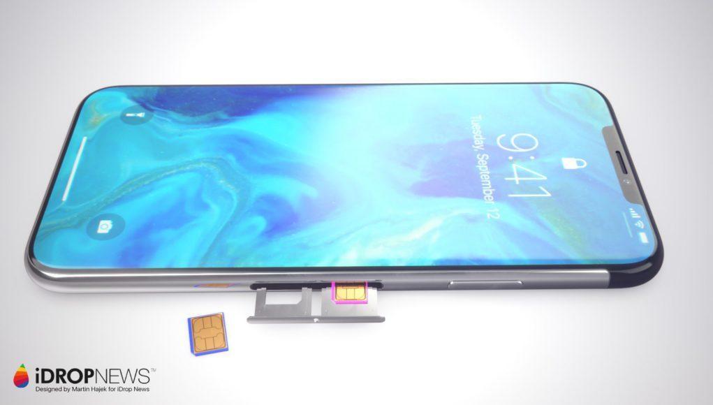 Concepto iPhone X 2018