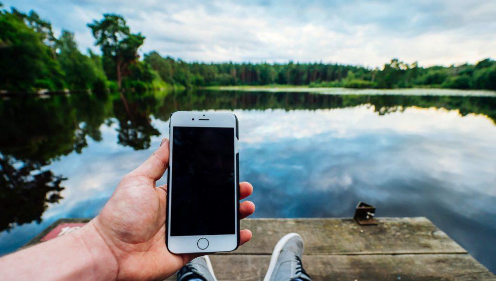 iPhone Apagado paisaje
