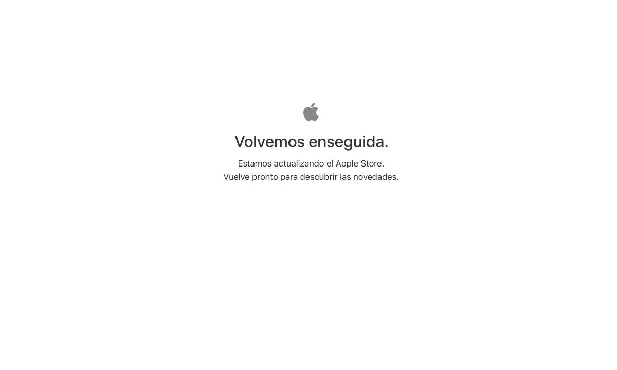 Apple Store online cierra