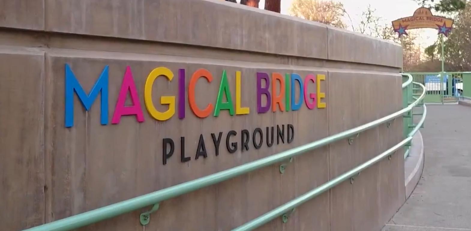 Apple Magical Bridge Playground