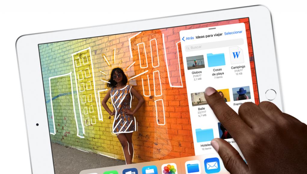 Nuevos comerciales iPad 2018