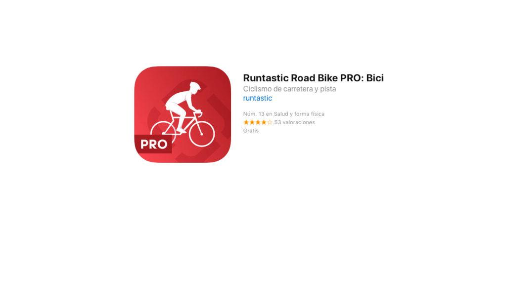 Runtastic Road Bike Pro GRATIS