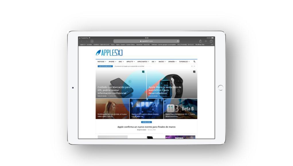 iPad Safari iOS Portada