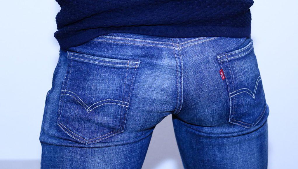 Pantalón vaquero hombre culo