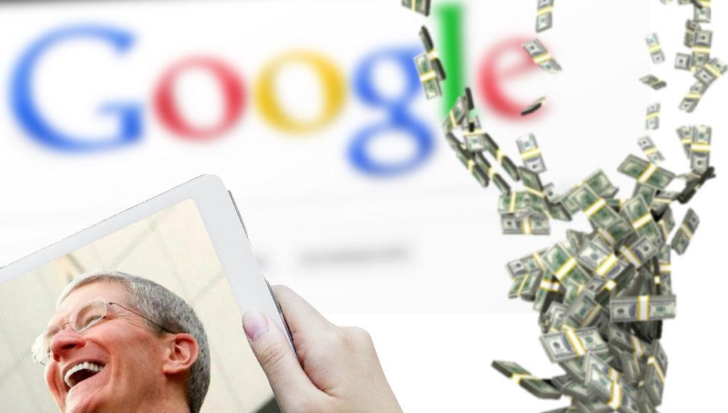 Apple Google Dinero Tim Cook