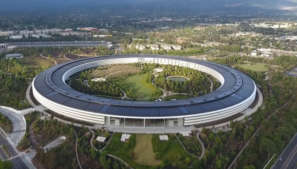 Apple Park Abril