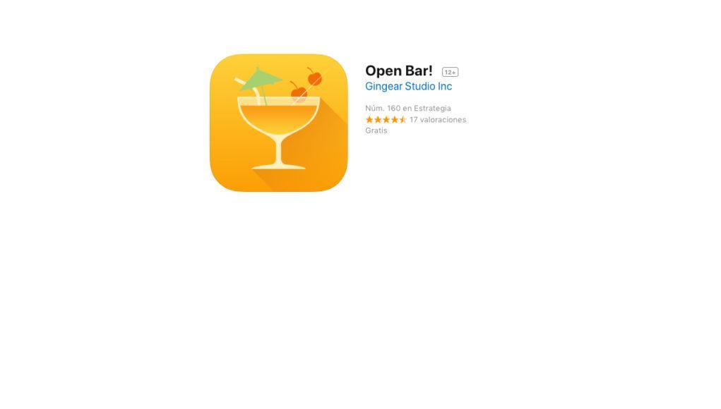 Open Bar! Gratis iOS