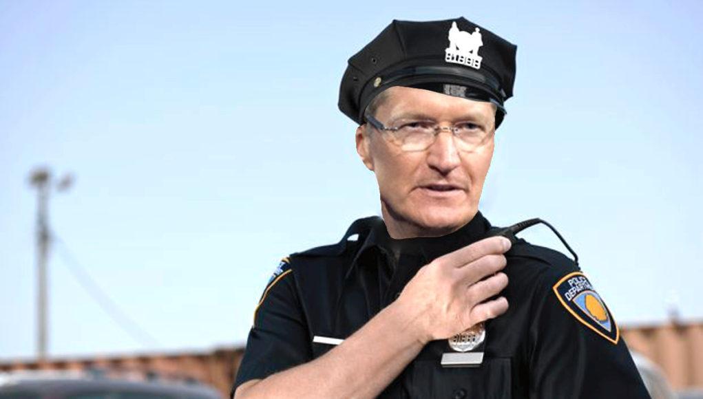 Tim Cook Police Apple