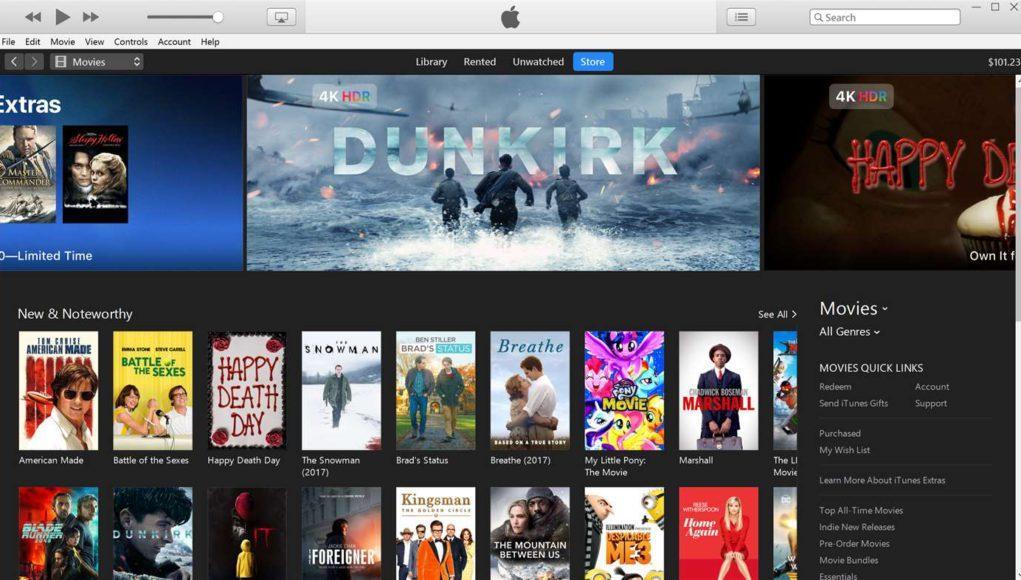 iTunes Windows Microsoft Store