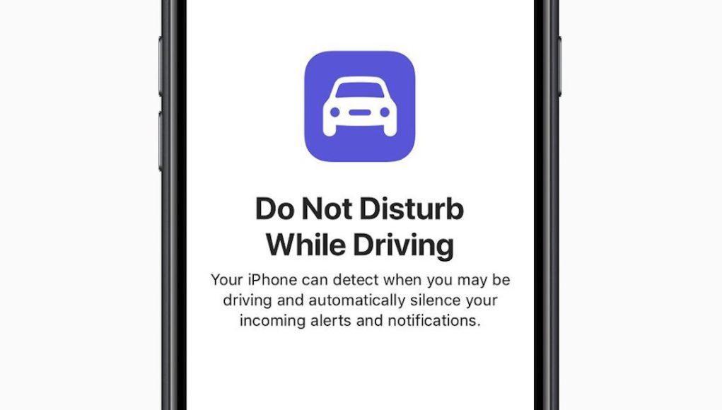 Modo no molestar al conducir APple
