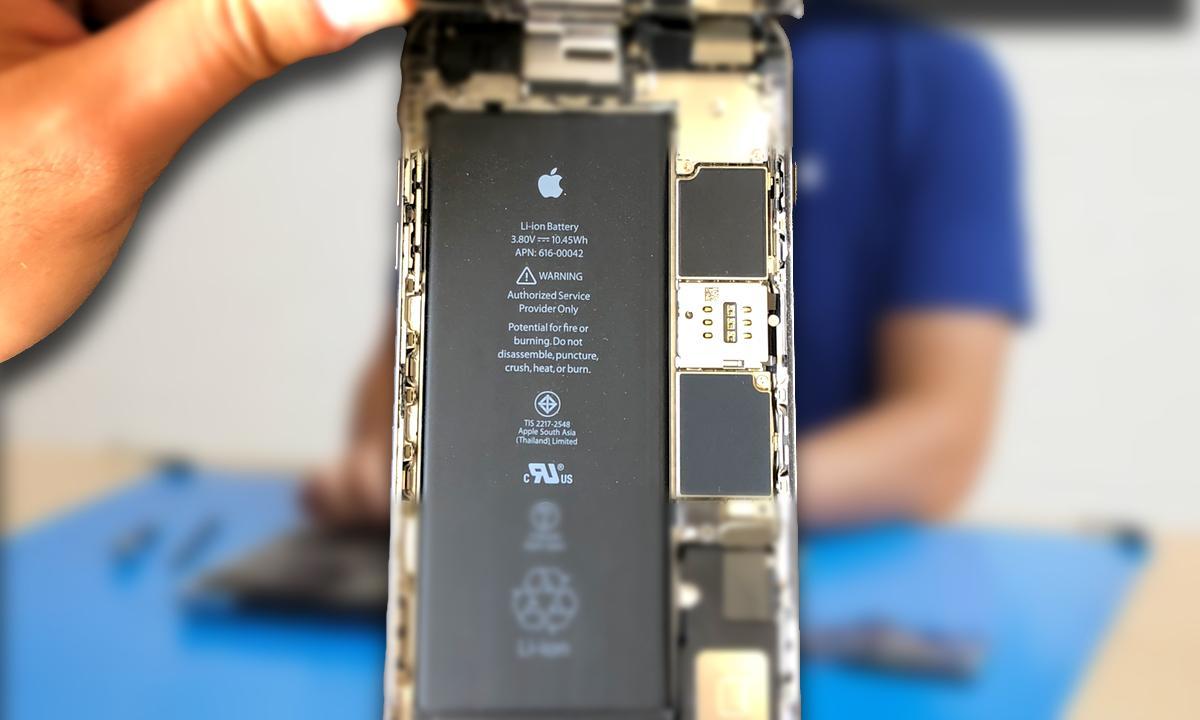 Batería iPhone sustitución Apple