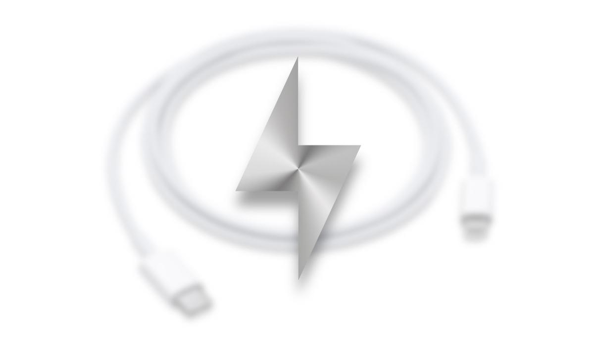Cargador USB-C iPhone carga rápida