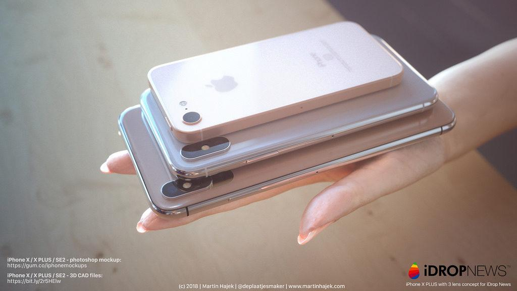 Apple iPhone 2018 concepto
