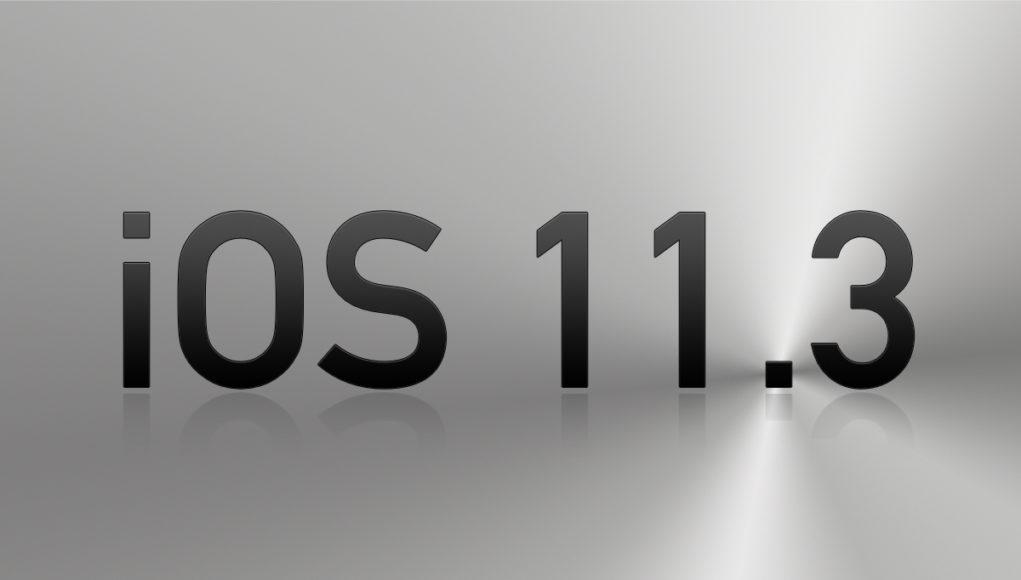 iOS 11.3 Apple