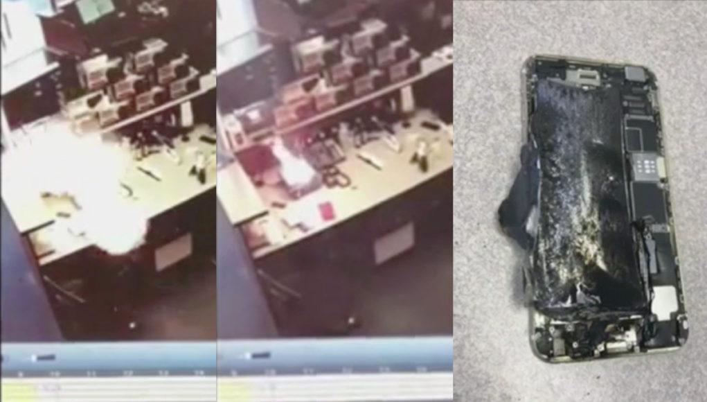 iPhone 6s explosión