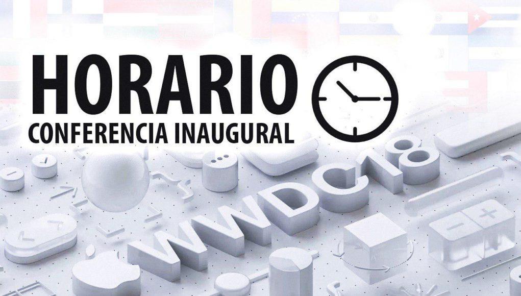 Horario WWDC 2018