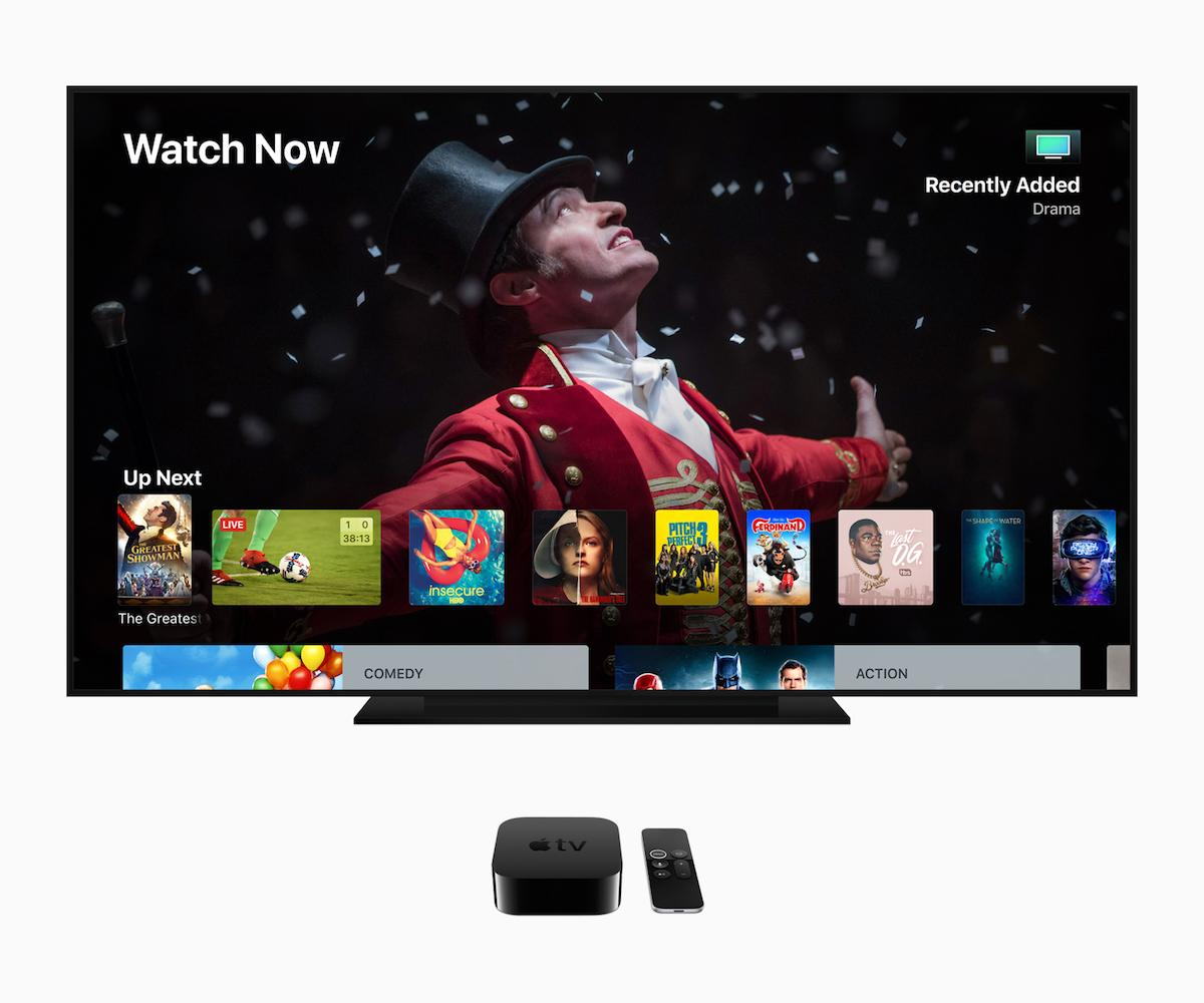 Apple TV tvOS 12 2018