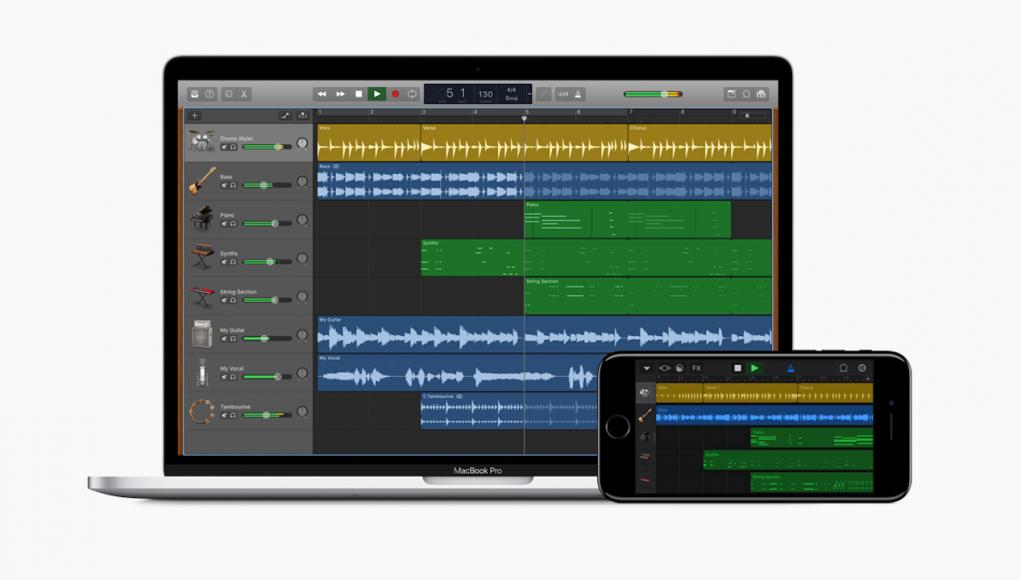 GarageBand iOS macOS