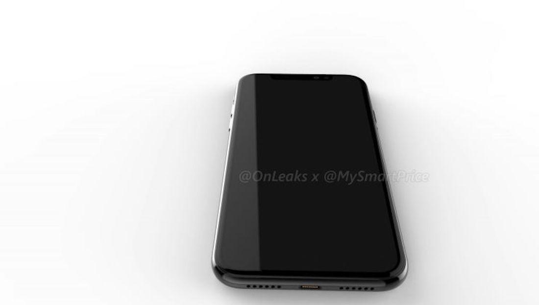 concepto iPhone X LCD