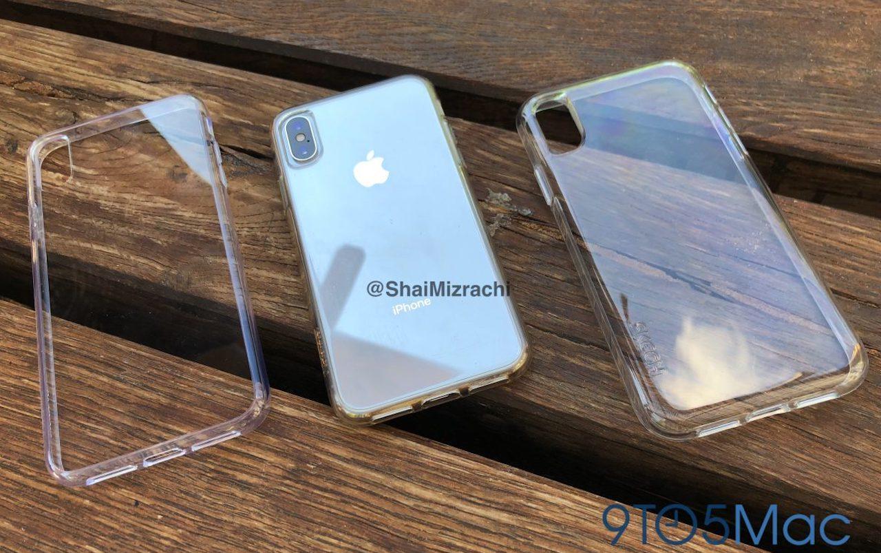 Concepto tres nuevos iPhone X