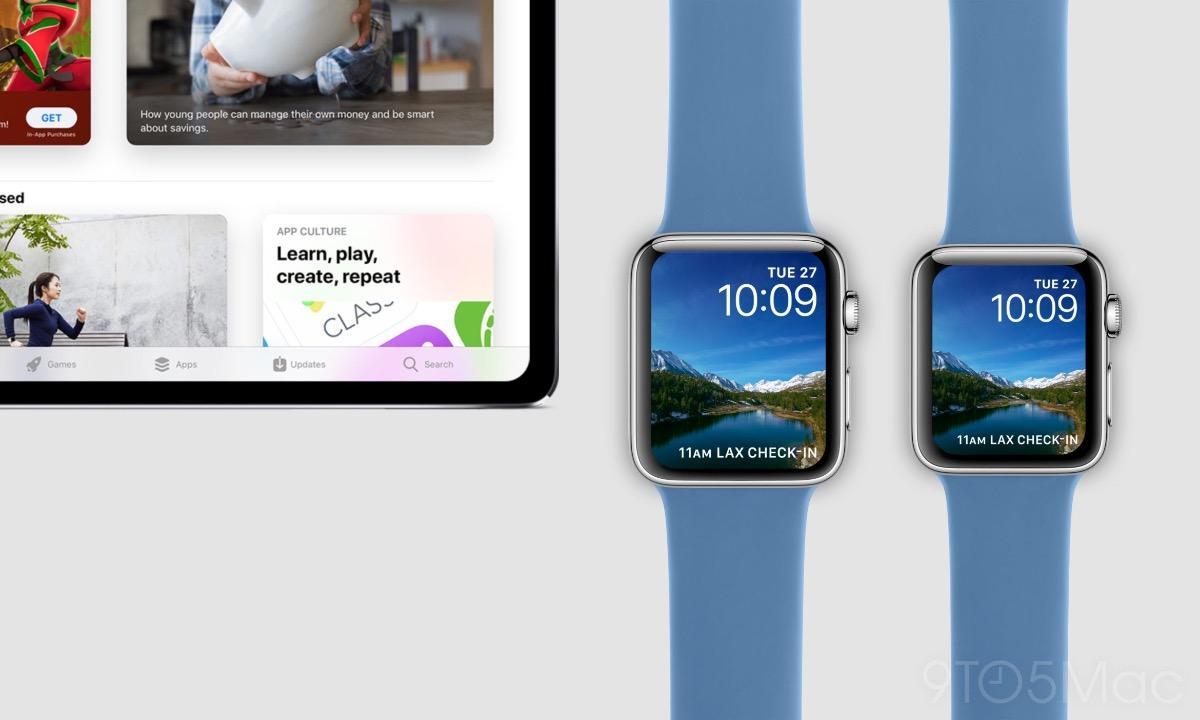 Concepto 9to5Mac iPad Pro Apple Watch