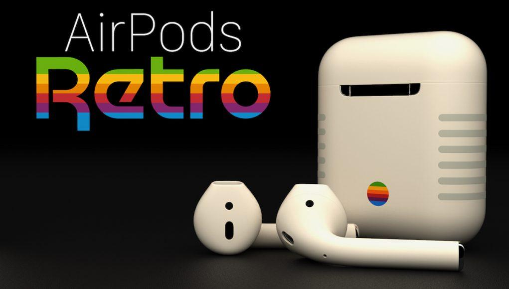 AirPods Retro Apple