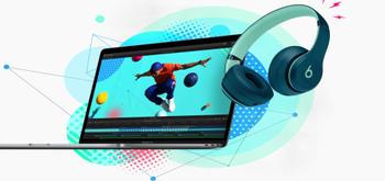 Apple regala unos auriculares Beats con la compra de un Mac o un iPad Pro