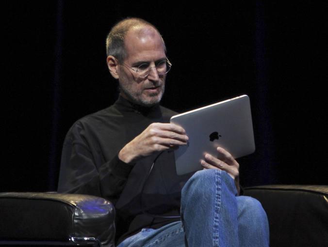 Steve Jobs iPad presentación