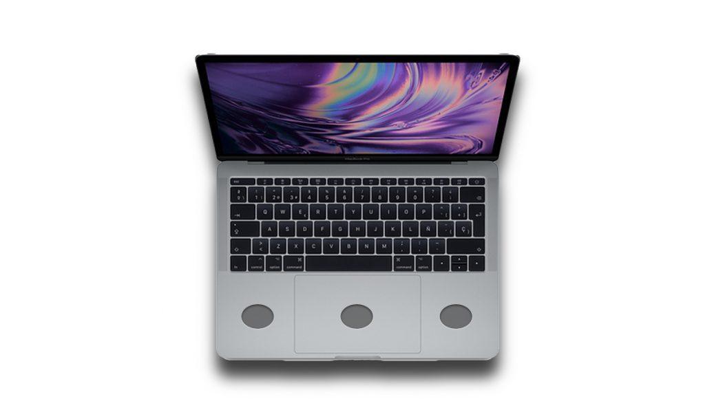 MacBook Pro Patente carga inalámbrica