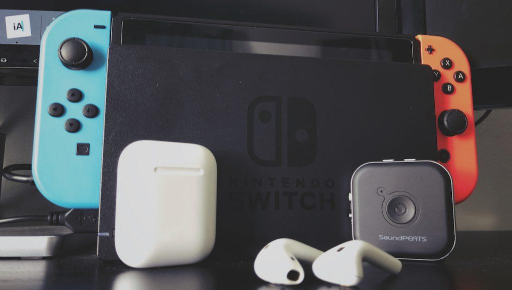 Cómo conectar AirPods Nintendo Switch
