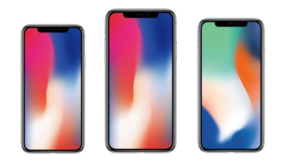 tamaños iPhone X 2018