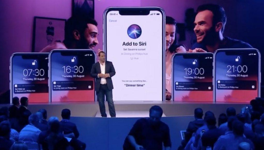 Philips HUE atajos Siri