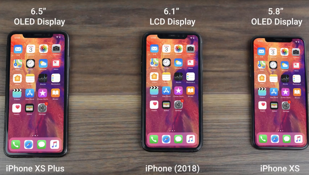 iPhone 2018 vídeo