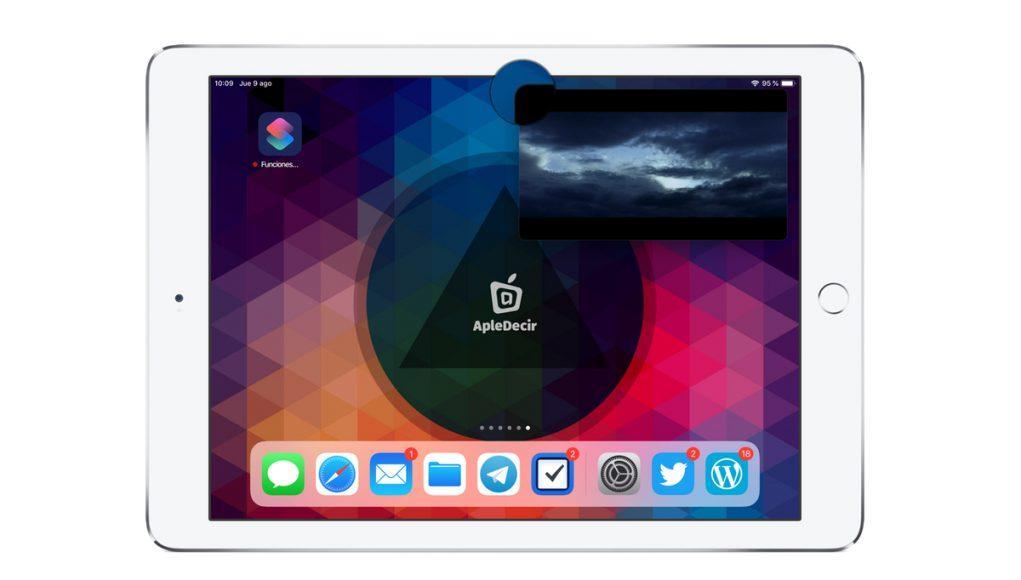 iPad Imagen sobre imagen