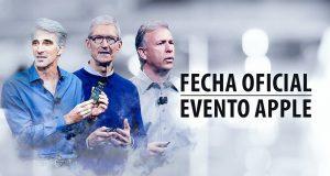 Fecha evento Apple 2018 septiembre