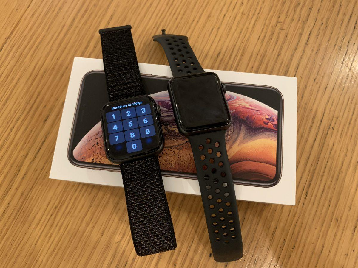 Apple Watch Series 4 y 3