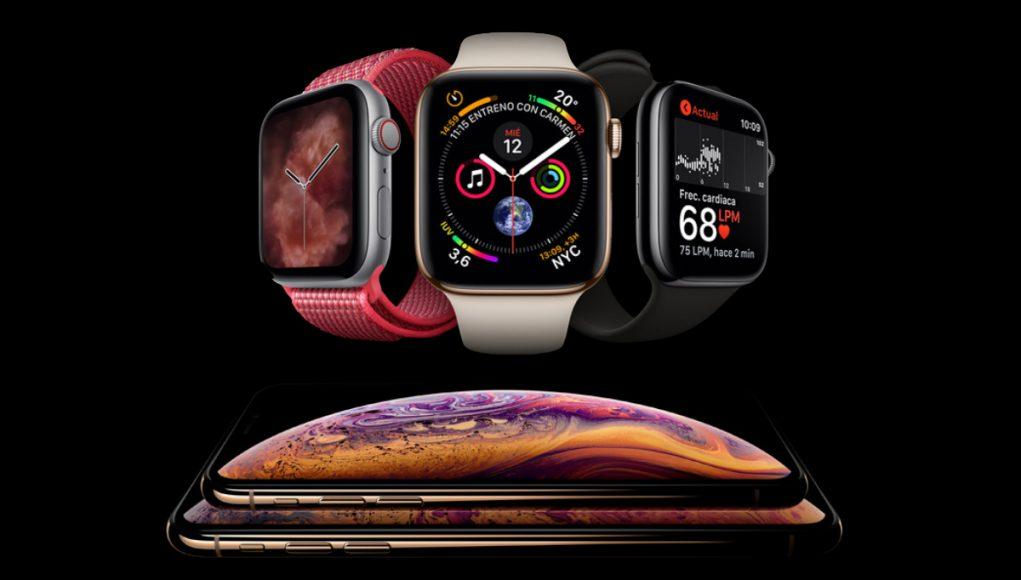 Apple Watch Series 4 iPhone XS XS Max