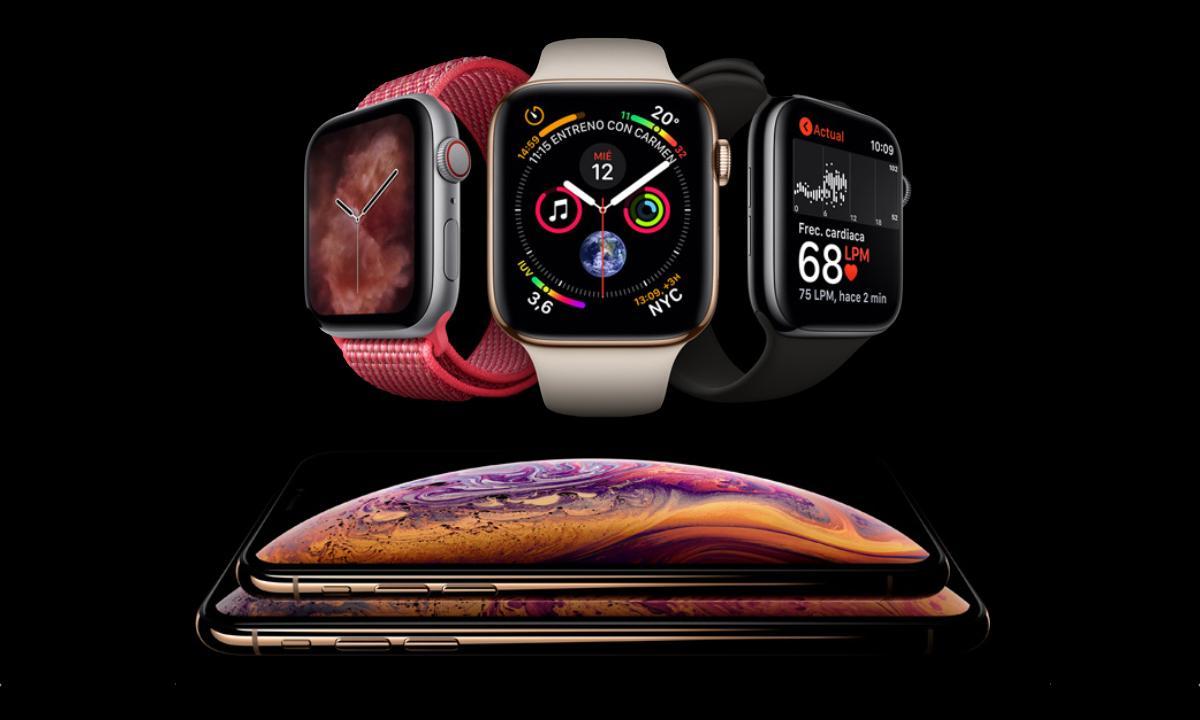 Apple Watch Series 4 iPhone XS XS Max