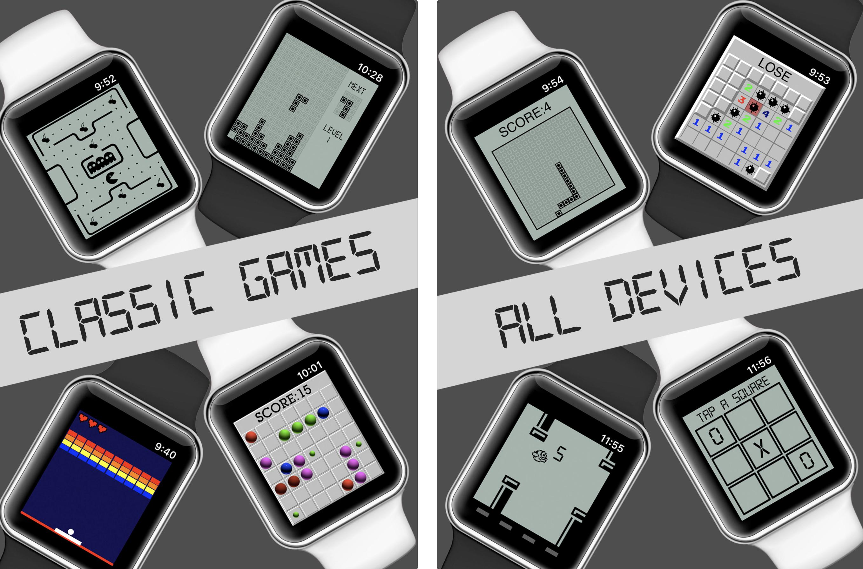 Apple Watch Mini juegos